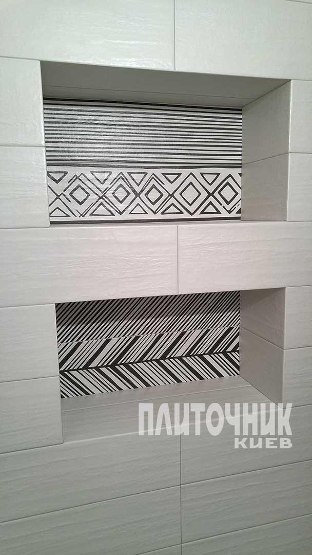 Виготовлення ніш з плитки